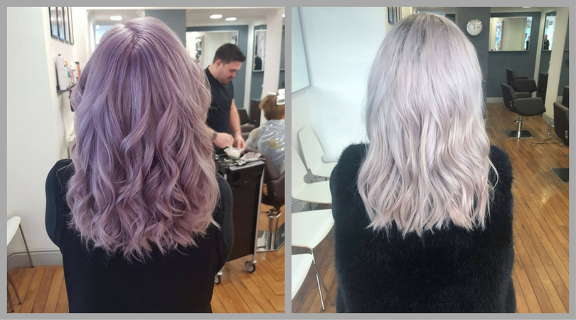 hair colour correction at Andrew Smith Hair Salon