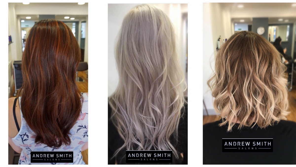 Hair salon extensions for winter catalog photo