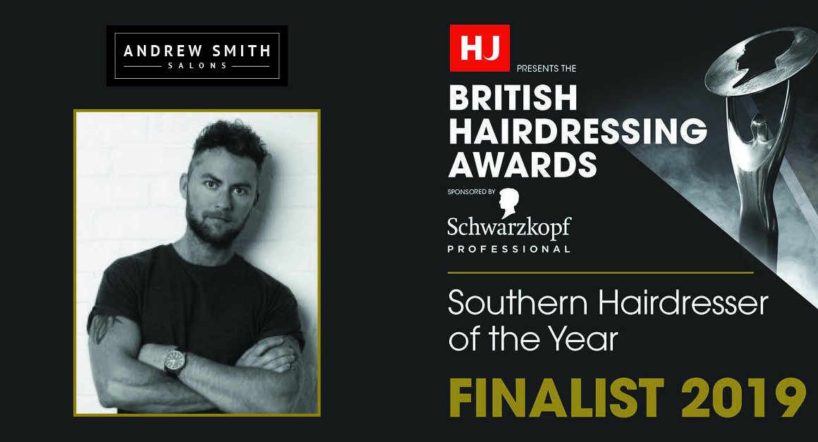 British Hairdressing Awards Finalists 2019 Andrew Smith
